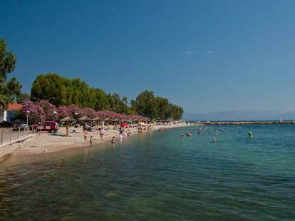 Κιβέρι, η μεγάλη παραλία του χωριού