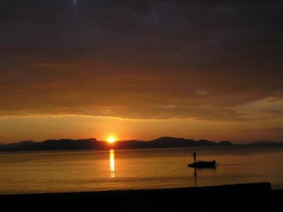 Κιβέρι ηλιοβασίλεμα