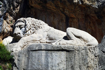 The Lion of Bavarians-Nafplio Sightseeing Monuments