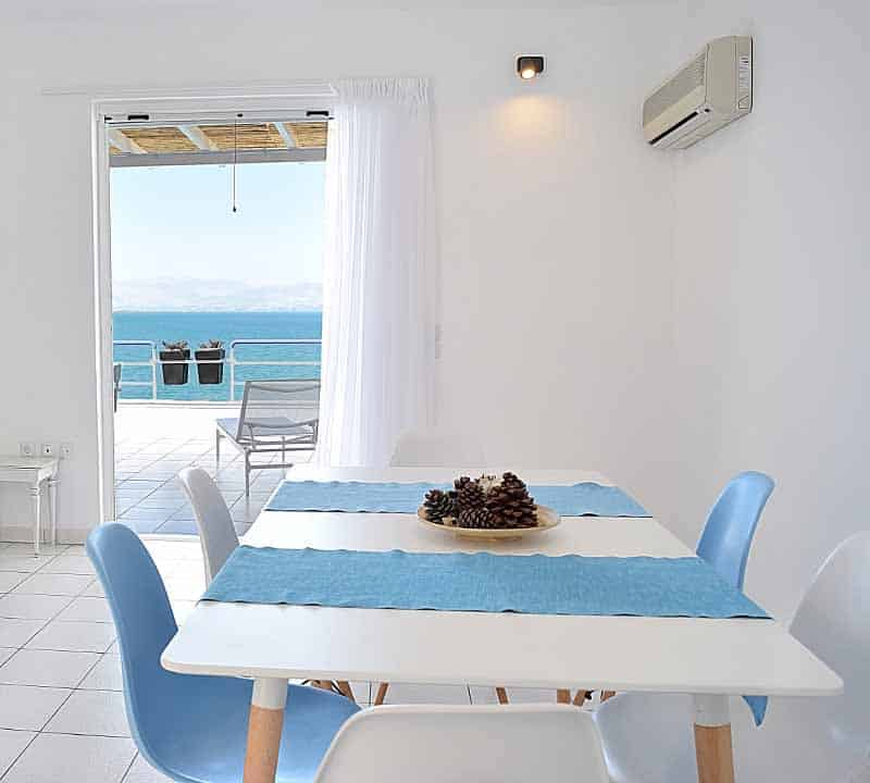 Meli Holiday loft apartmentview from dinning rom Kiveri Nafplion