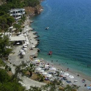 Plage -Arvanitia- Nauplie Plages- Grèce