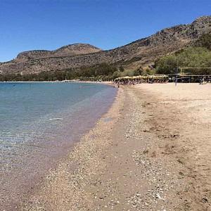 Plage Karathona-Nauplie Plages- Grèce-KIVERI-PELOPONNESE
