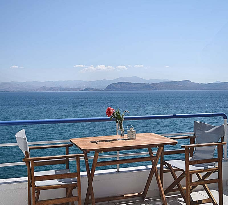 Nafplio seaside studio apartment-Meli holiday apartment-Kiveri-Greece