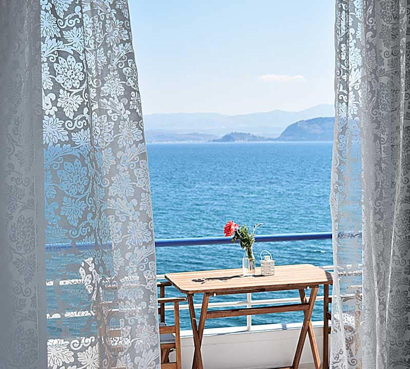 Studio Sea View- Meli Holiday Apartment- Nafplio- Kiveri -Greece